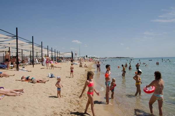 Лучший детский пляж России. Фото Заозёрного