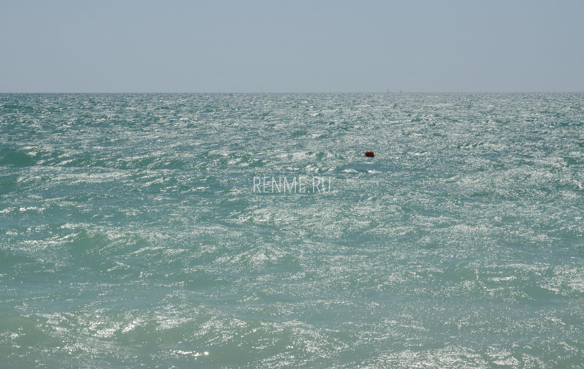 Август 2019. Море в Евпатории. Фото Евпатории
