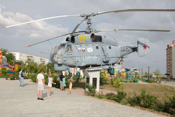 Вертолет Ка-27ПЛ. Фото Мирного