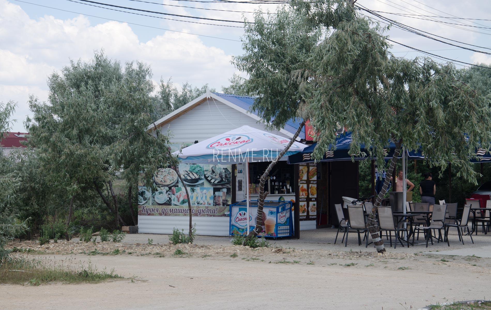 Магазин на набережной в Штормовом. Фото Штормового