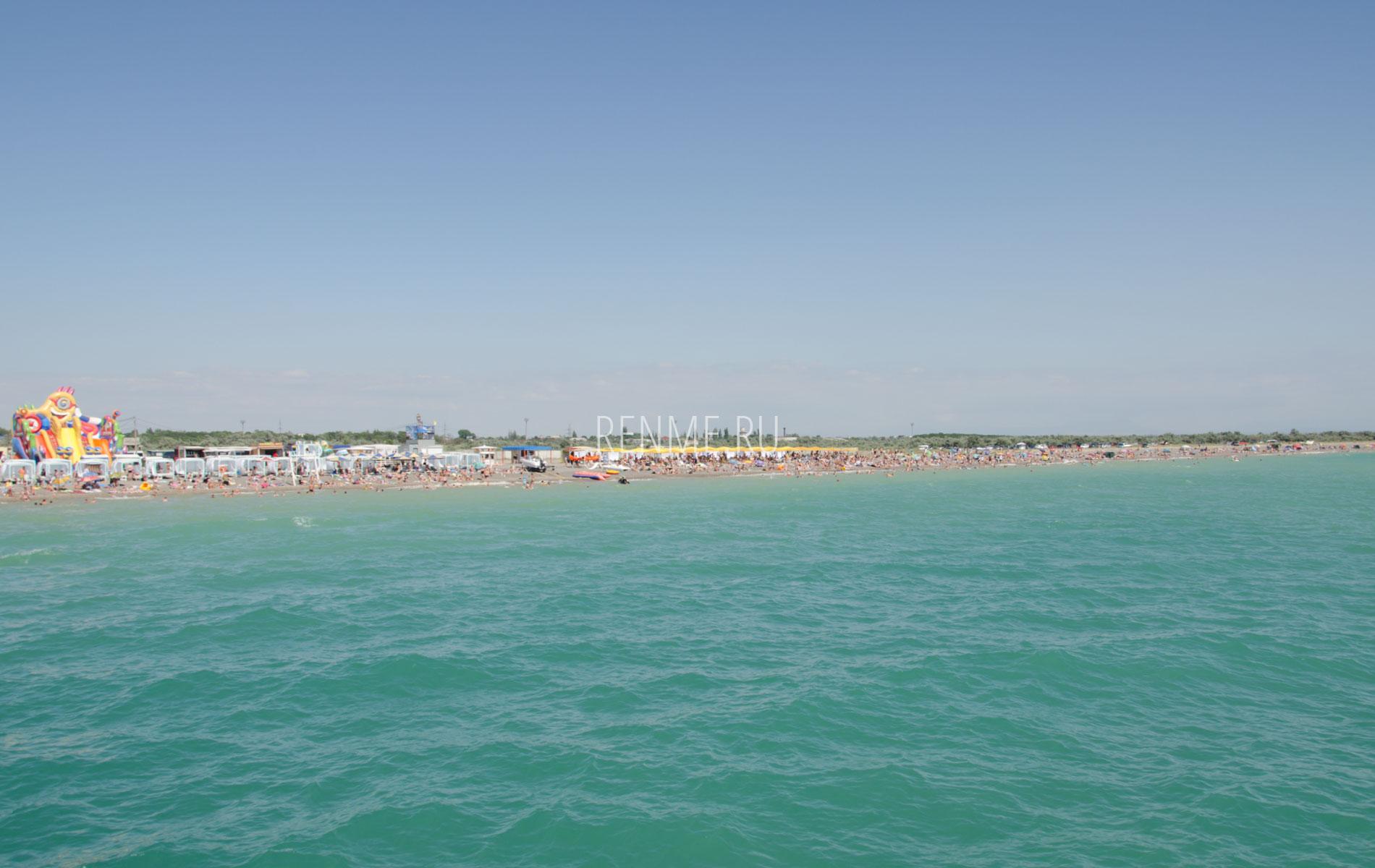 Море галечный пляж. Фото Новофедоровки