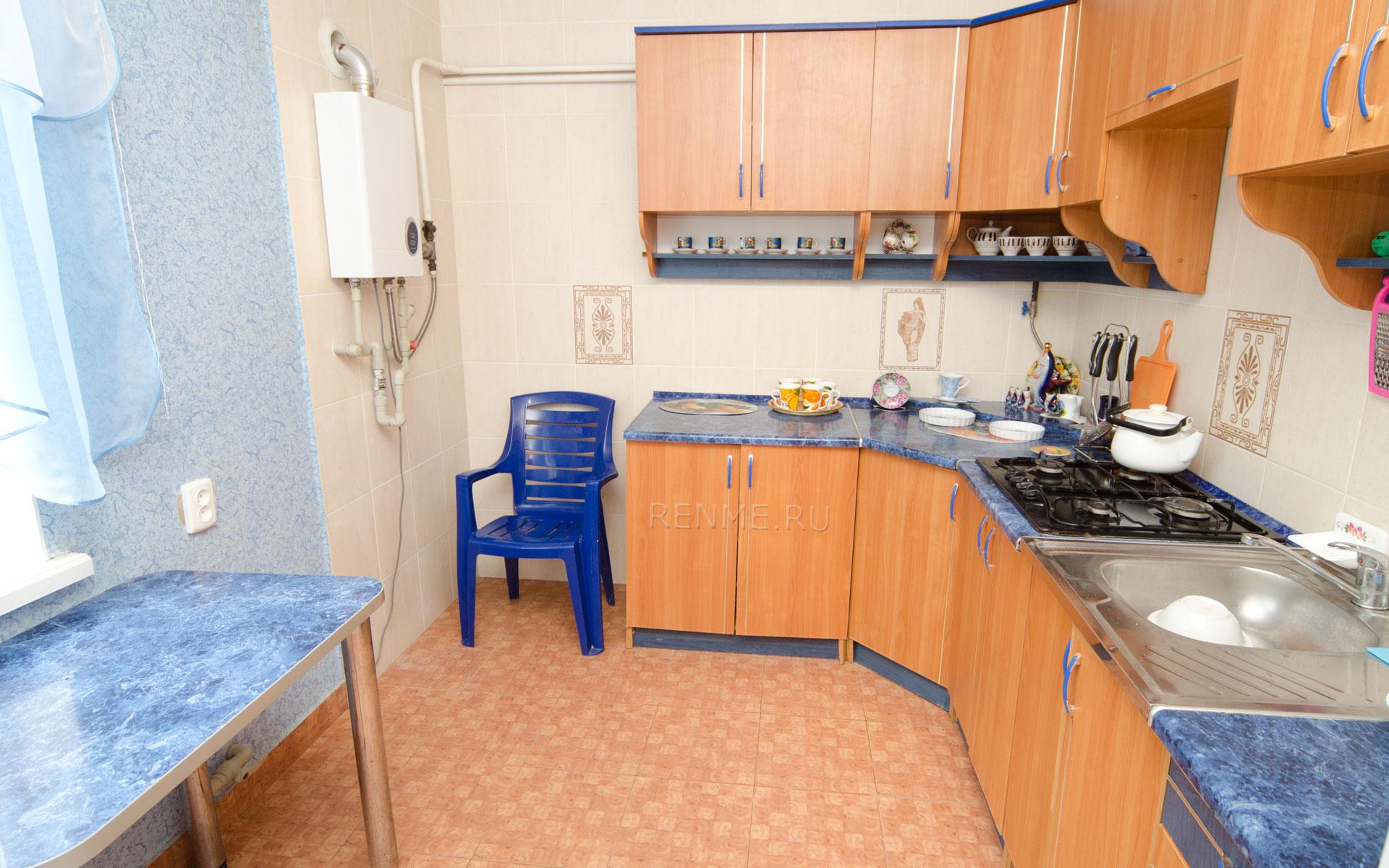 Кухня. Номер люкс. Комфортабельные номера. Заозёрное