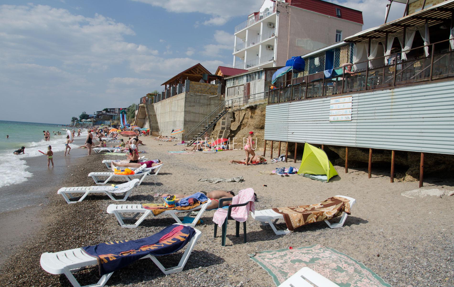 Пляжи Монтажник, Чайка. Фото Николаевки