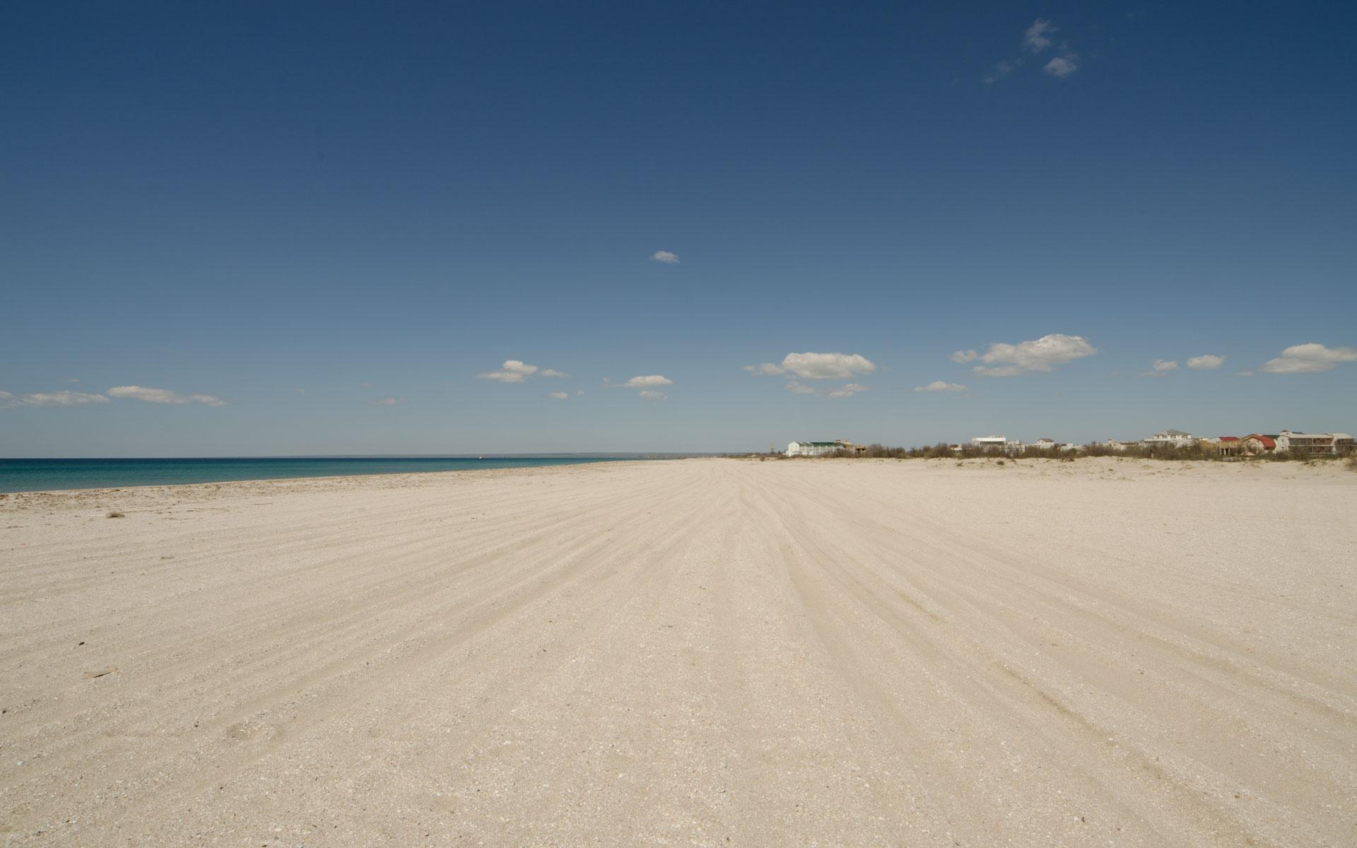 Коса Южная. Пляж 2019. Фото Мирного