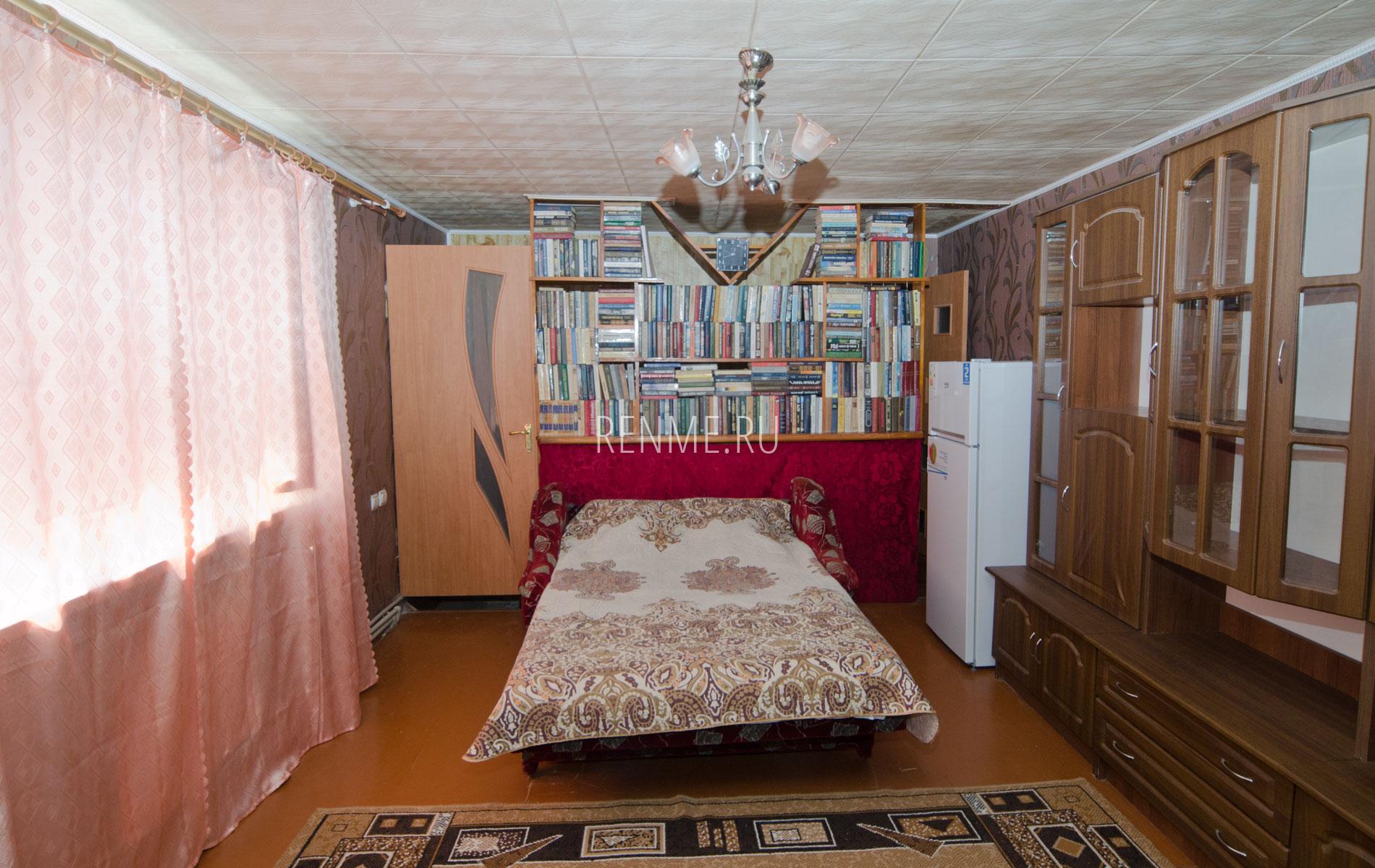 """Комната 1. Двухкомнатная квартира. Апарт-отель """"Берюзовый Бриз"""". Заозёрное"""