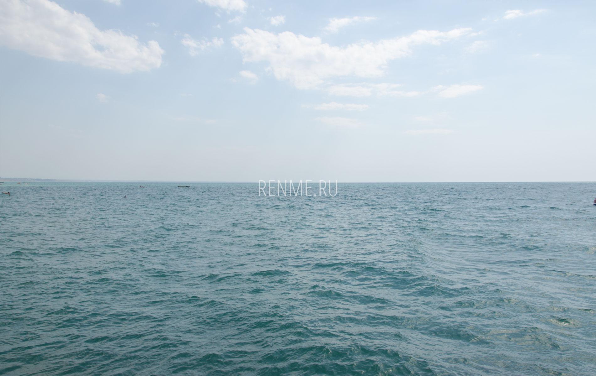 Черное море в Николаевке. Фото Николаевки