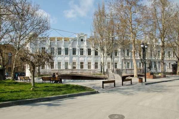 Сквер им. Н.А. Мамуны, весна 2019. Фото Евпатории