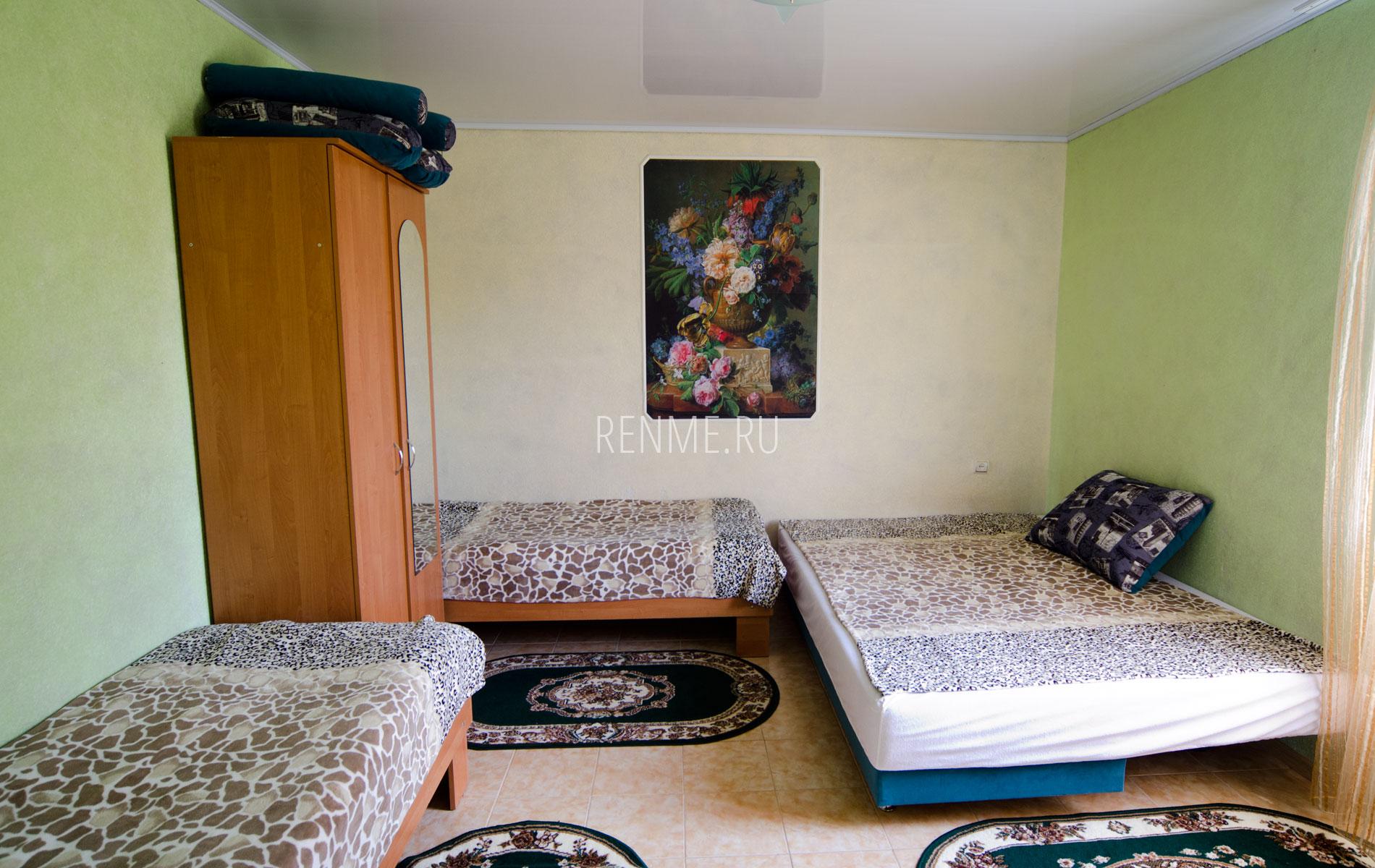 Комната. 8 квартира. Апарт-отель на 8 квартир. Заозёрное