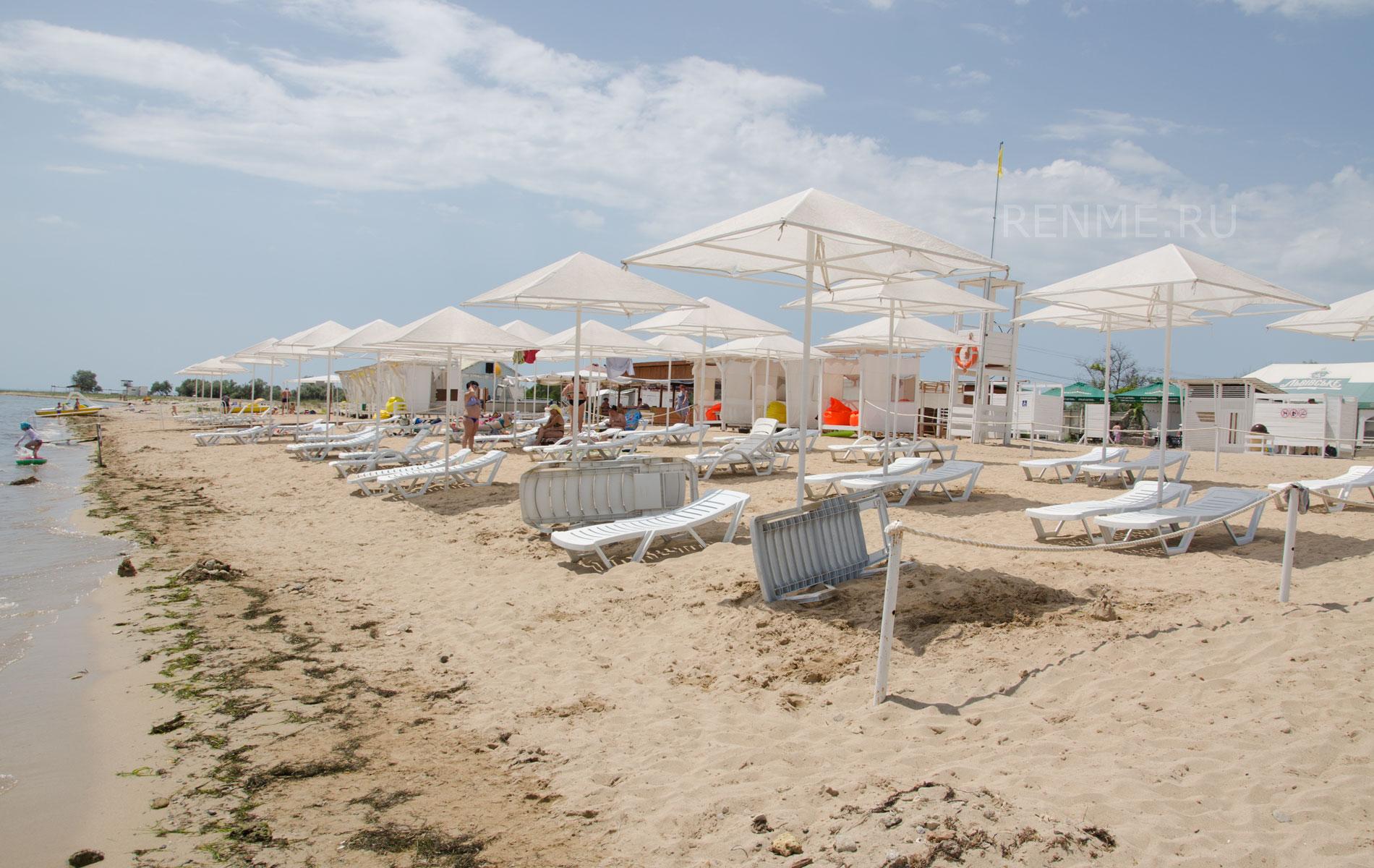 """Пляж """"Барабулька"""" летом 2019. Фото Заозёрного"""