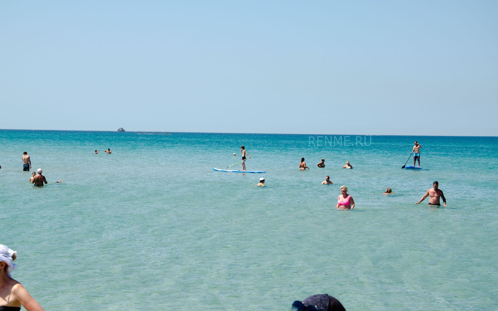Море в Оленевке. Тарханкут. Фото Оленевки