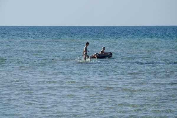 Отдых семьей на море в Межводном. Фото Межводного