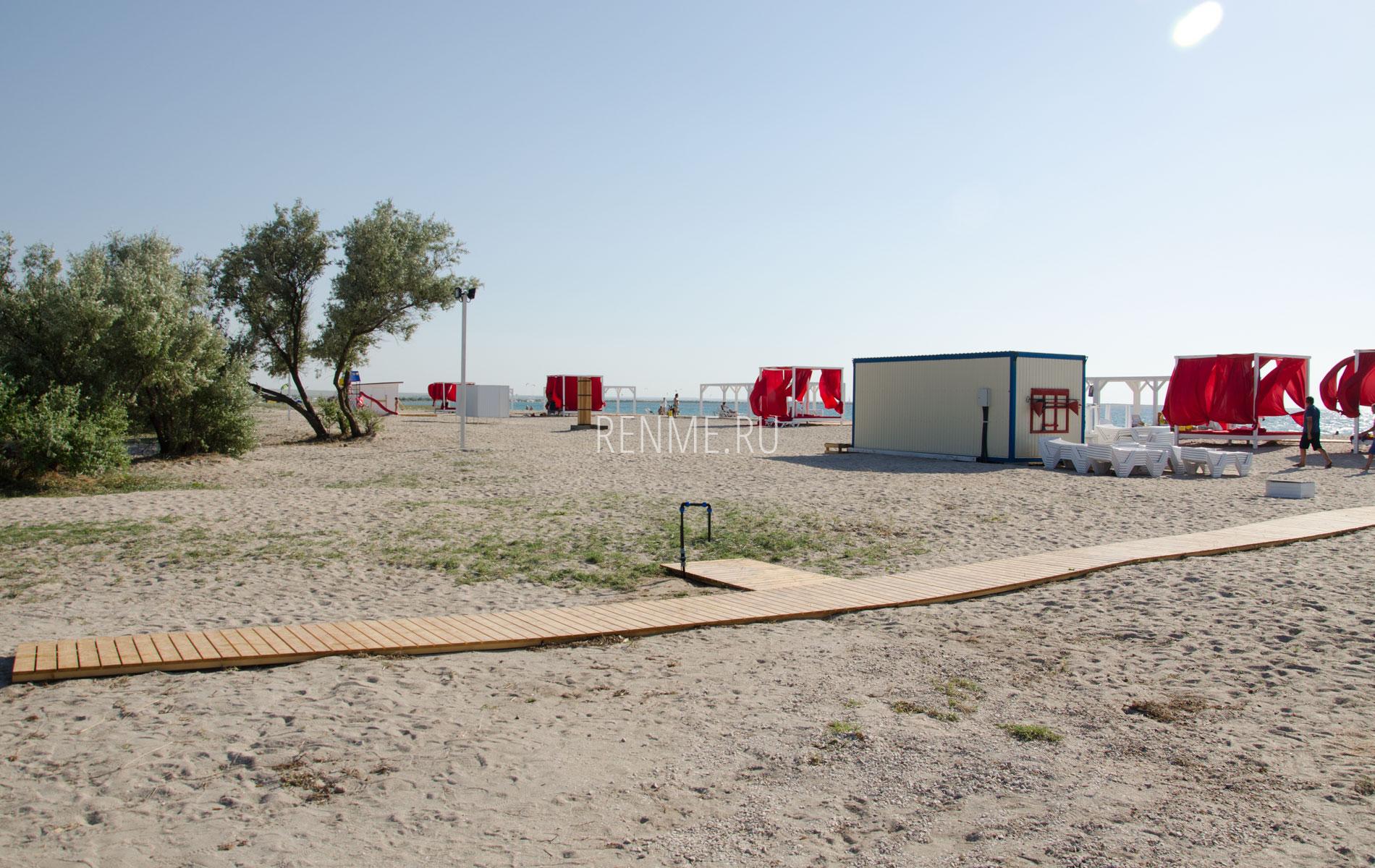 Лучший пляж в Межводном 2019. Фото Межводного