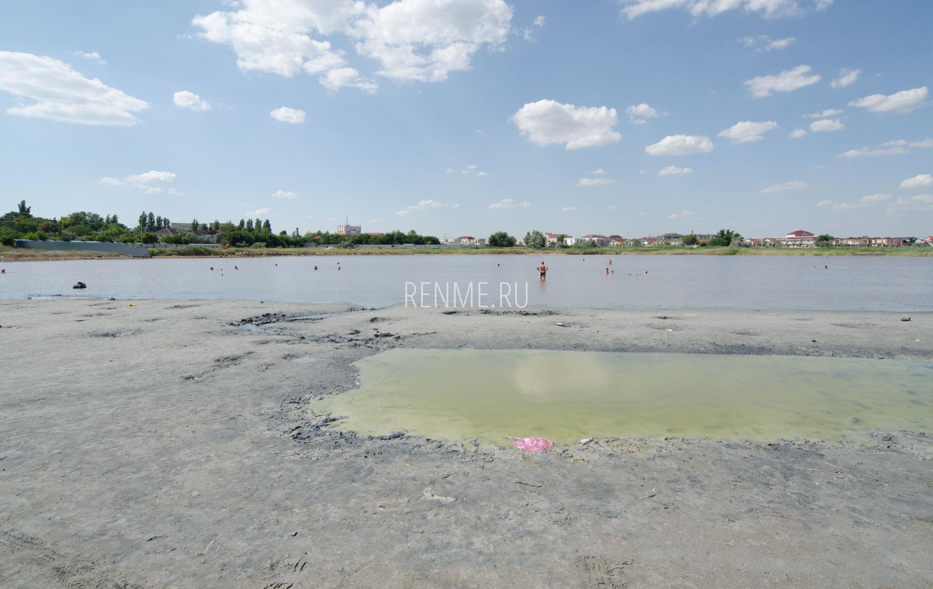 Малое Ялы-Майнакское озеро летом 2019. Фото Заозёрного