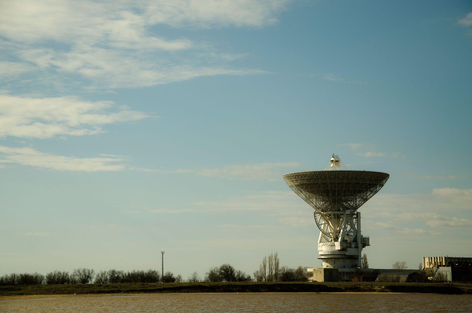 Радиотелескоп РТ-70. Фото Молочного