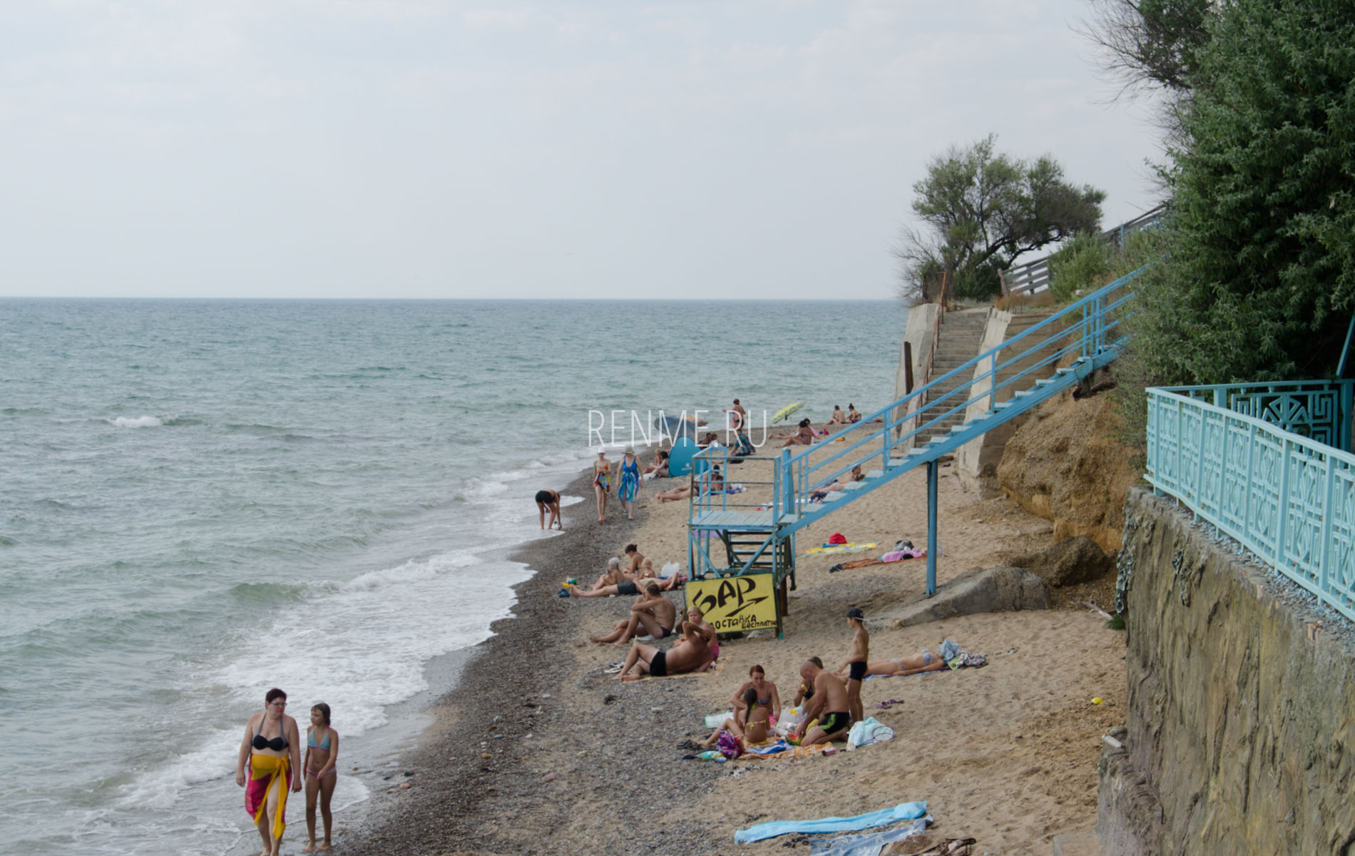 Пляж Ravennamare в Николаевке. Фото Николаевки