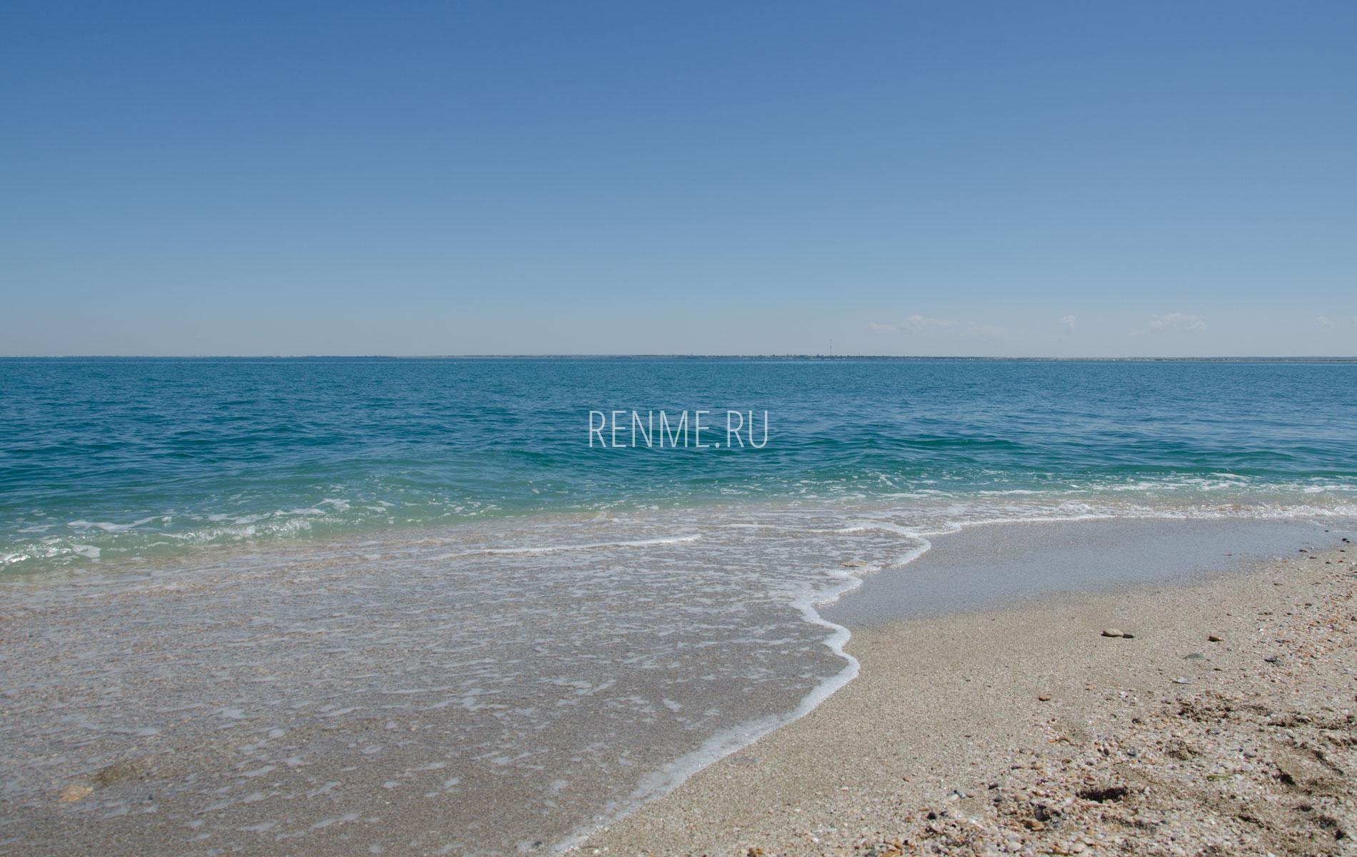 Море и пляж Стерегущего. Фото Стерегущего