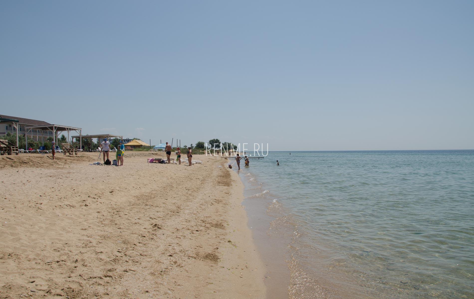 Пляж в Союз-2004. Фото Заозёрного