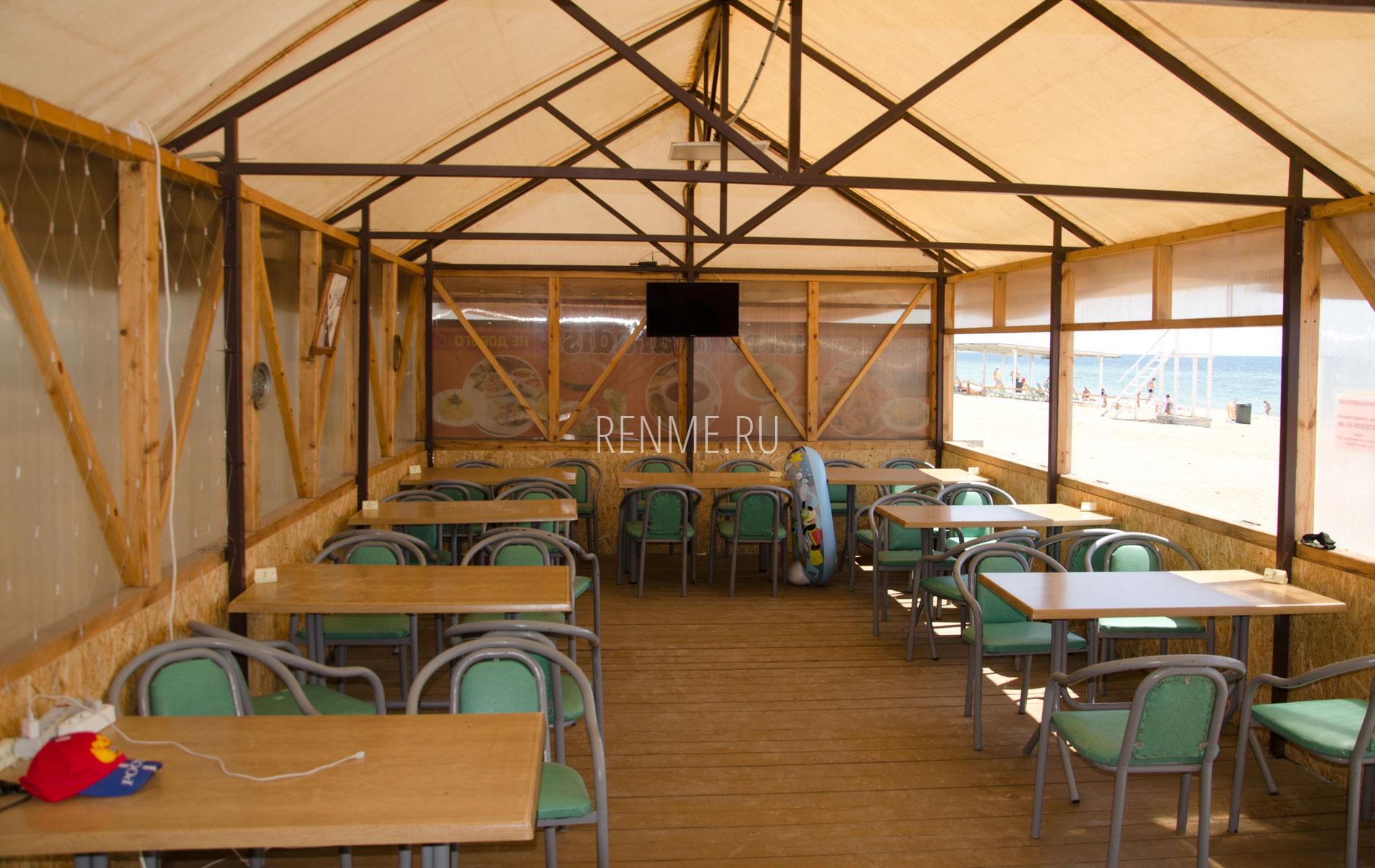 "Кафе на пляже ""Парадиз"". Фото Заозёрного"