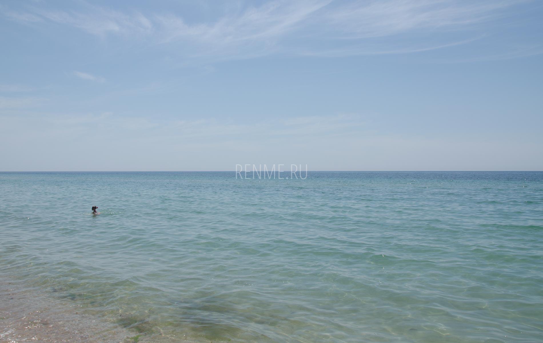 Теплое море в Крыму. Фото Заозёрного