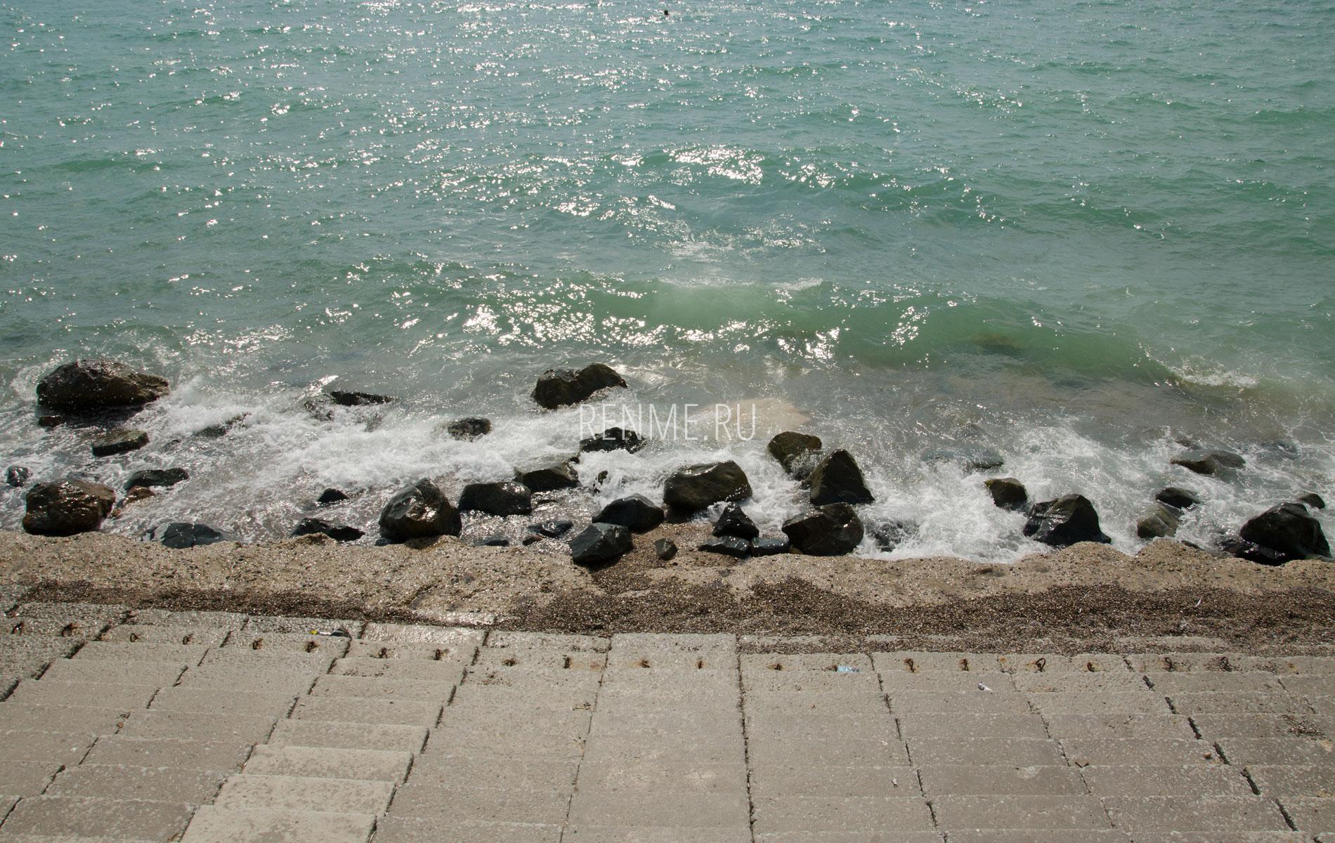 Крымское море Николаевки. Фото Николаевки