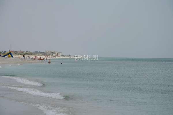 Море у Южной косы. Фото Мирного