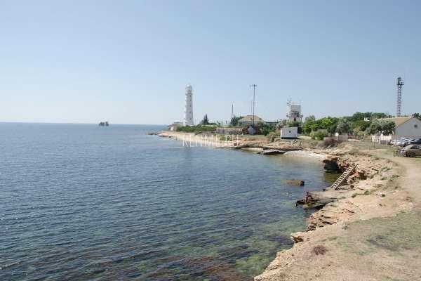 Тарханкутский маяк. Фото Оленевки