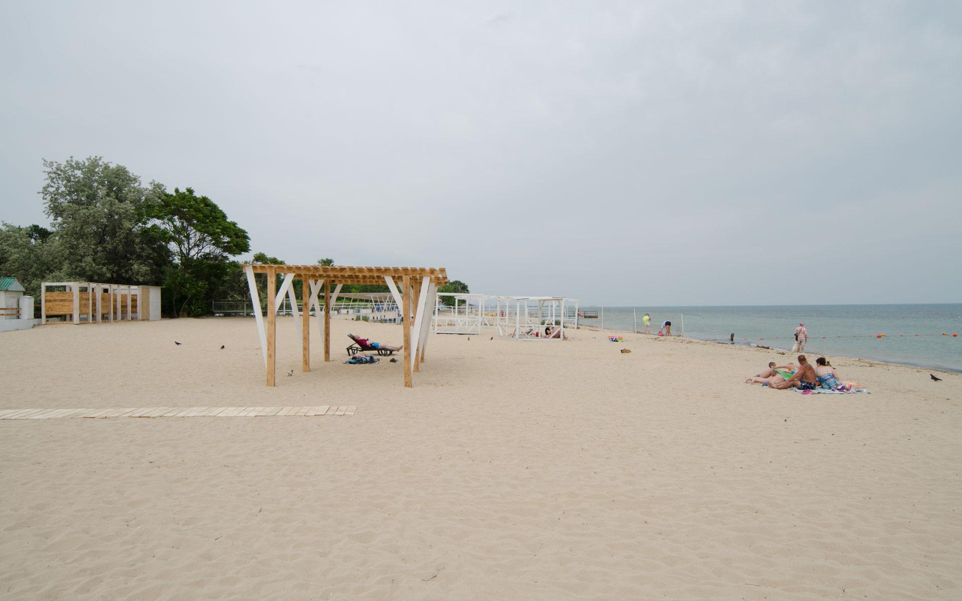 Пляж. Фото Заозёрного