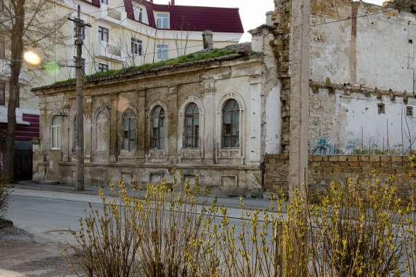 Дореволюционный дом. Фото Евпатории