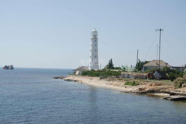 Тарханкутский маяк летом 2019. Фото Оленевки