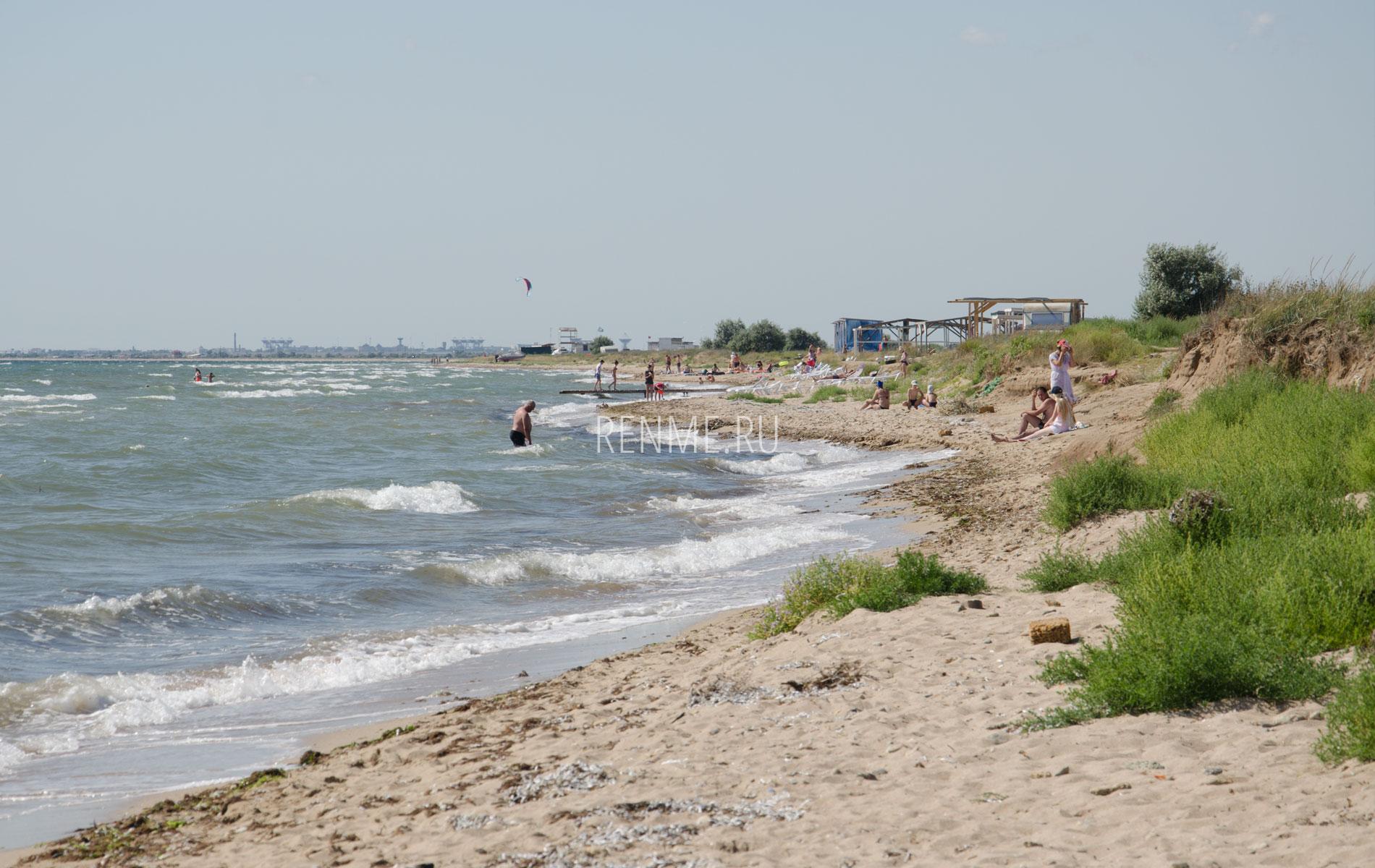 Дикий крымский пляж. Фото Заозёрного