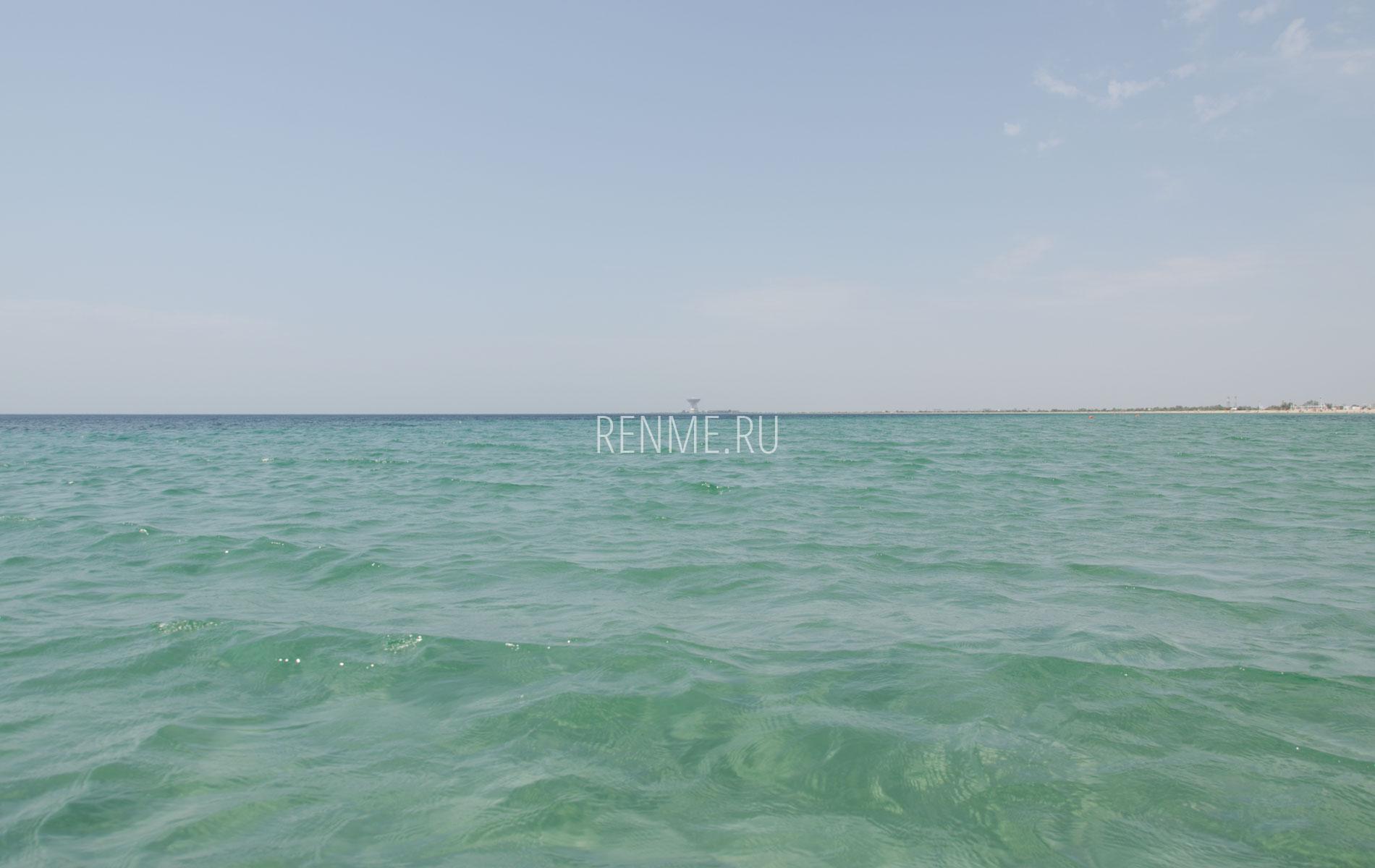 Море в Евпатории на Песчанке. Фото Заозёрного