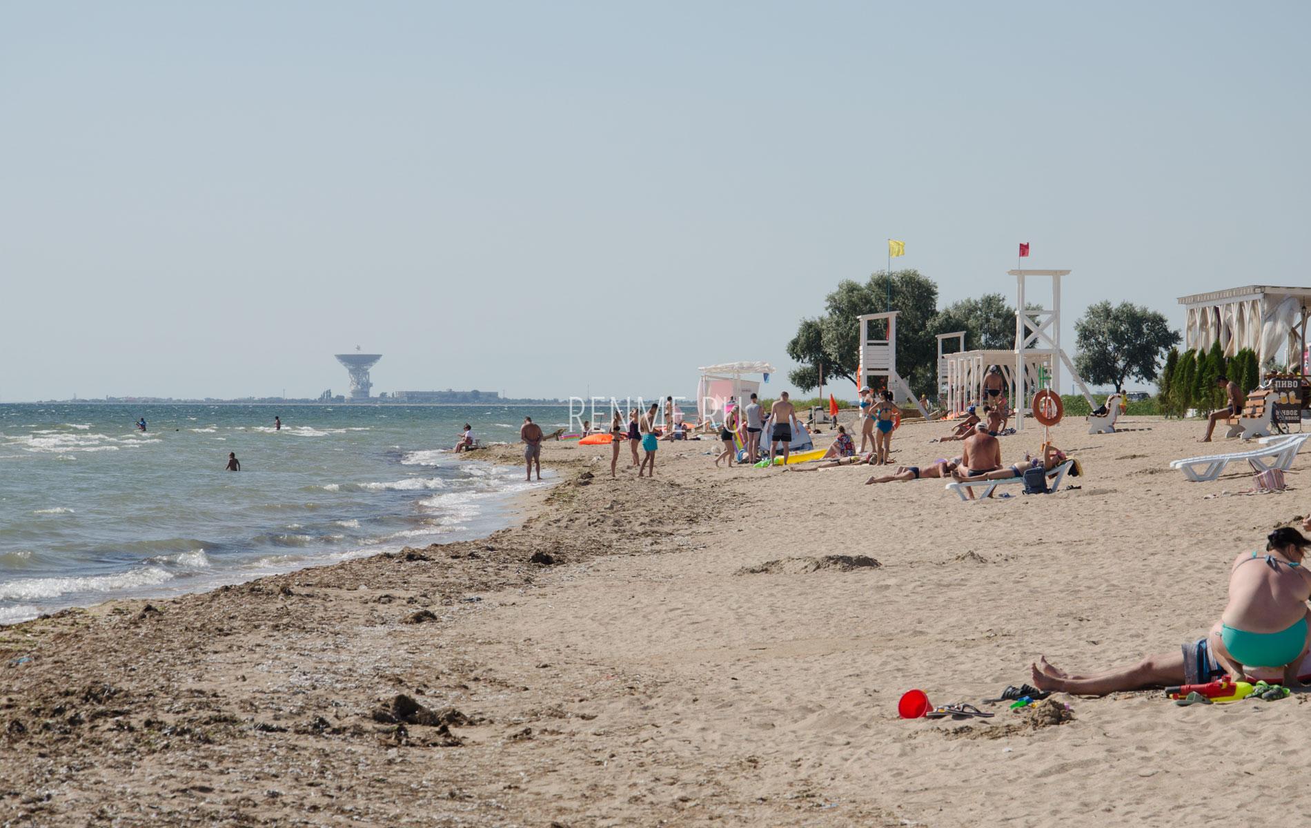 Космические пляжи. Фото Заозёрного