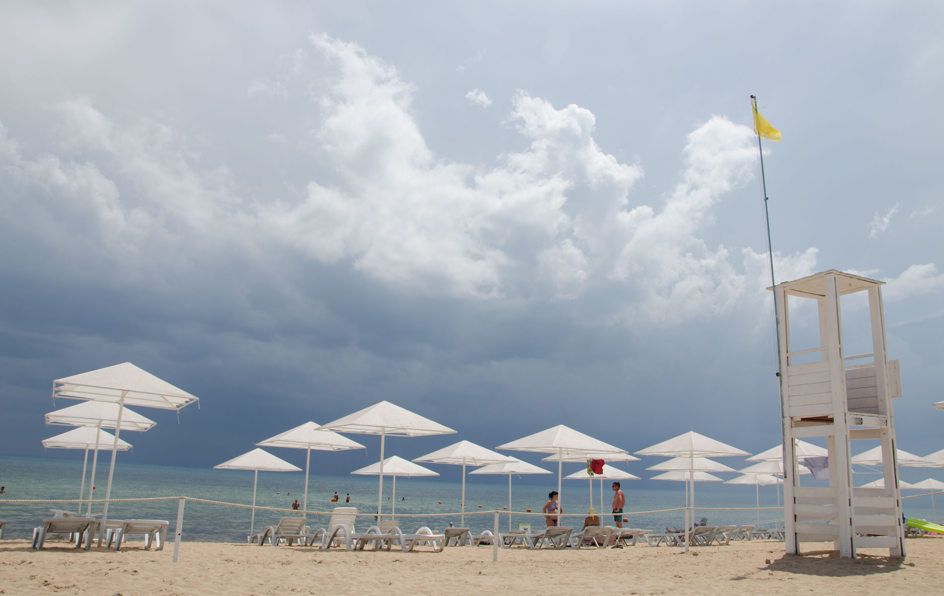 """Пляж """"Барабулька""""летом 2019. Фото Заозёрного"""