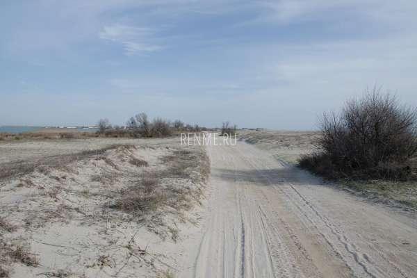 Дорога вдоль пляжа. Фото Поповки