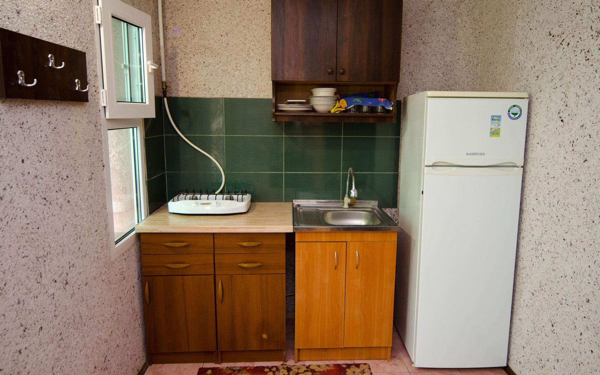 Кухня. Море. Апарт-отель на 8 квартир. Заозёрное
