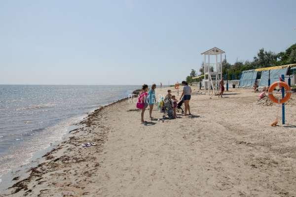 """Пляж """"Морской"""". Пляжи Заозёрного"""