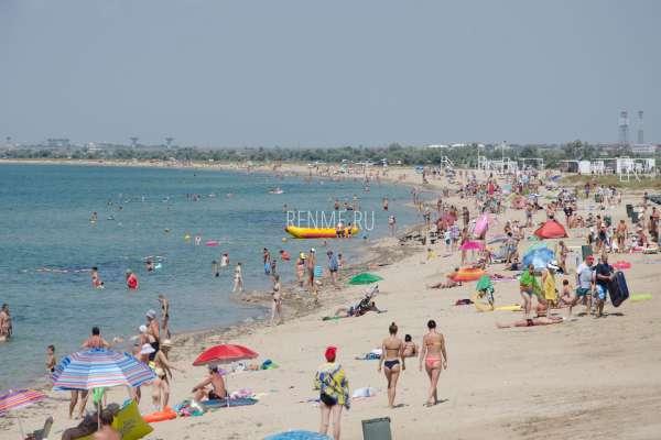 Пляжи на дачах. Фото Заозёрного