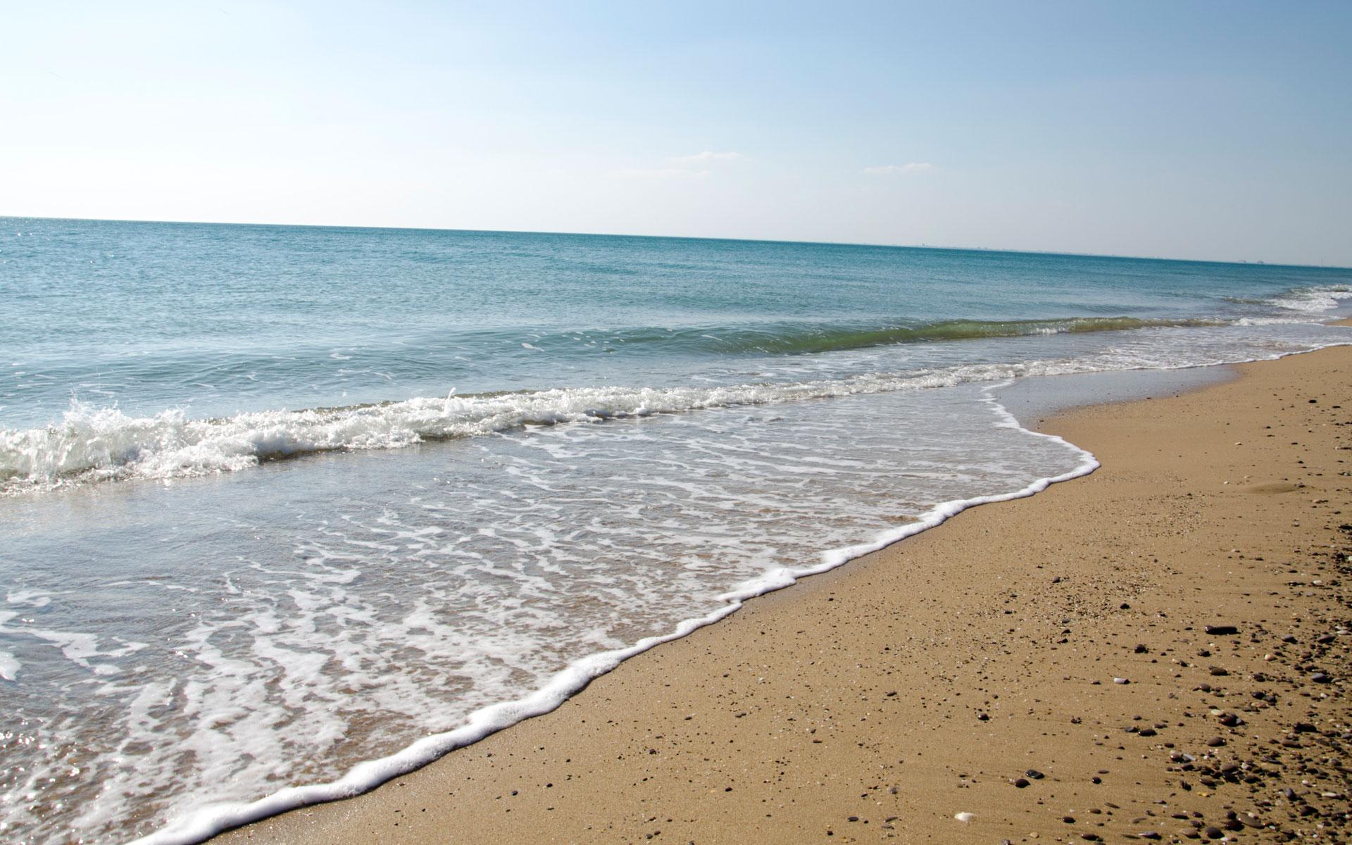 Саки. Море в межсезонье 2019. Фото Сак