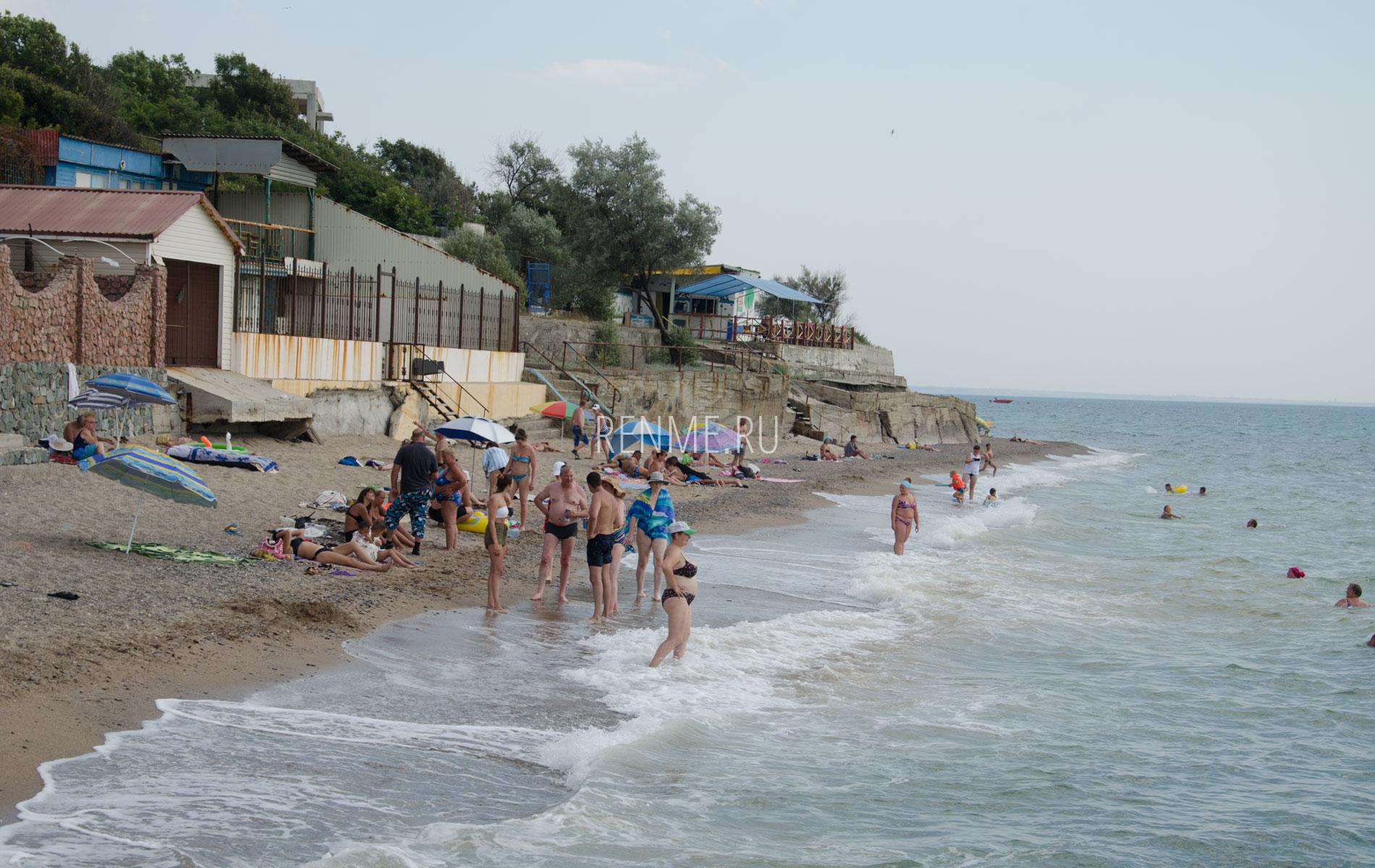 """Пляж """"Маяк"""" 2019. Фото Николаевки"""