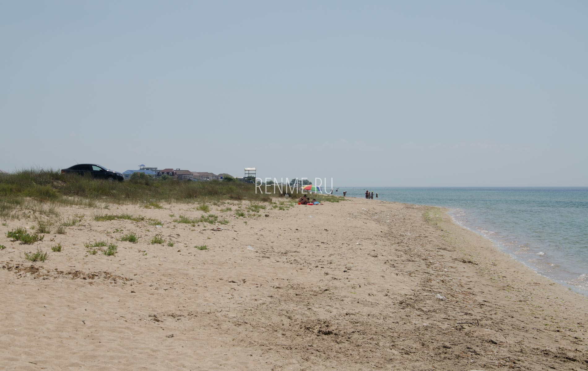 Дикий пляж Западного Крыма в Заозёрном. Фото Заозёрного
