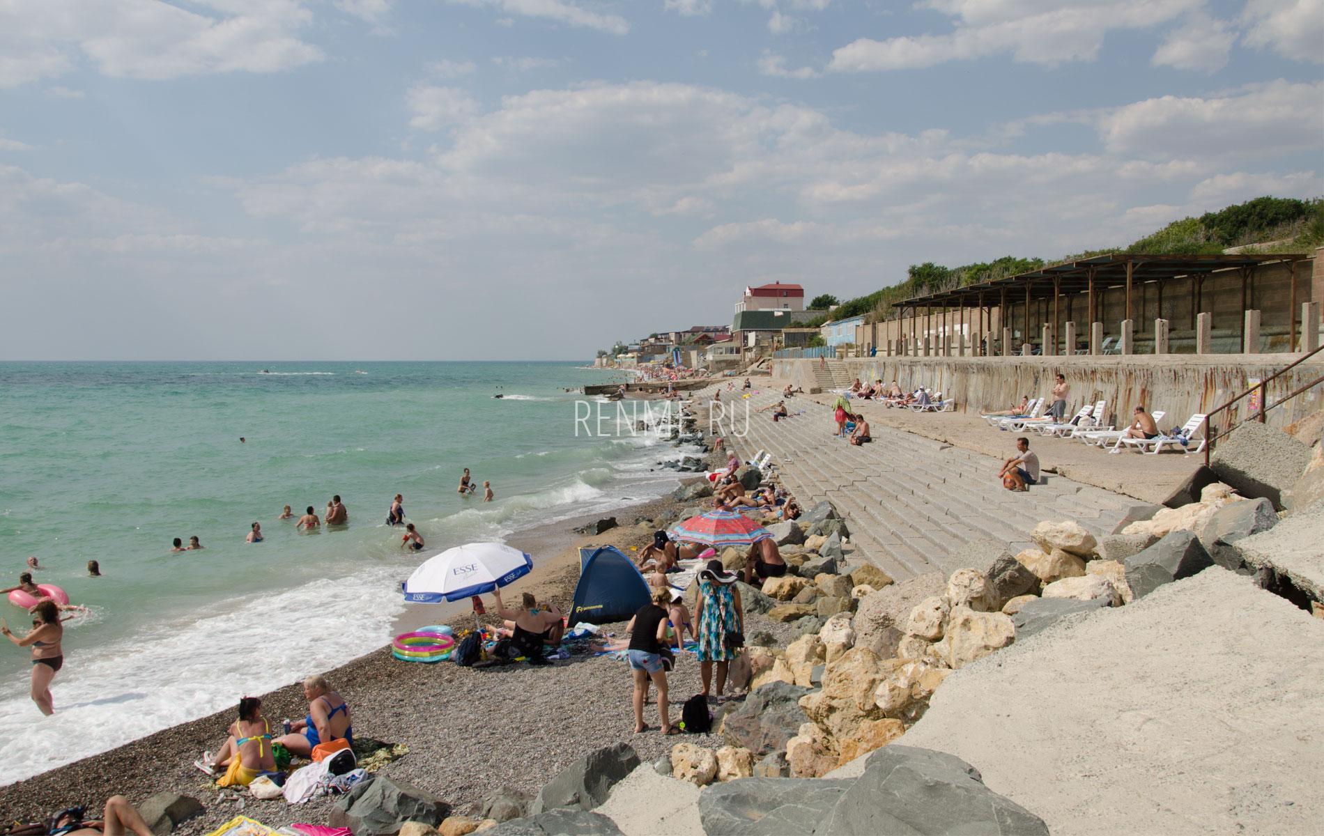 """Пляж """"Парус"""" в июле 2019. Фото Николаевки"""