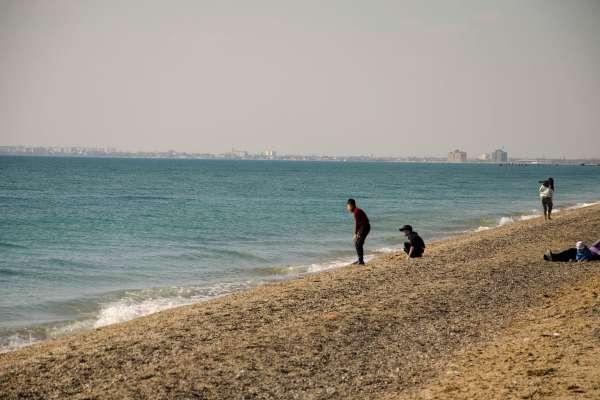 Каламитский залив. Вид на Евпаторию. Фото Евпатории