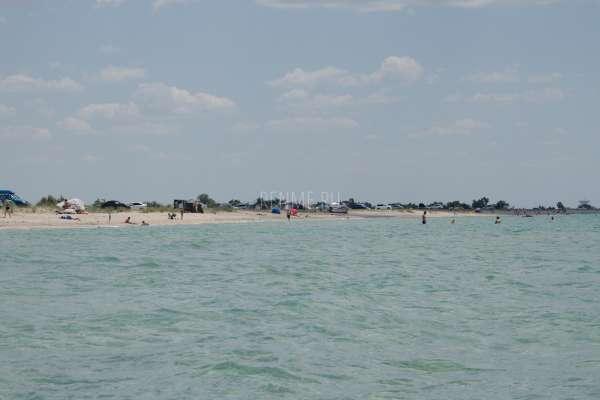 Песчаный берег в Крыму 2020. Фото Штормового