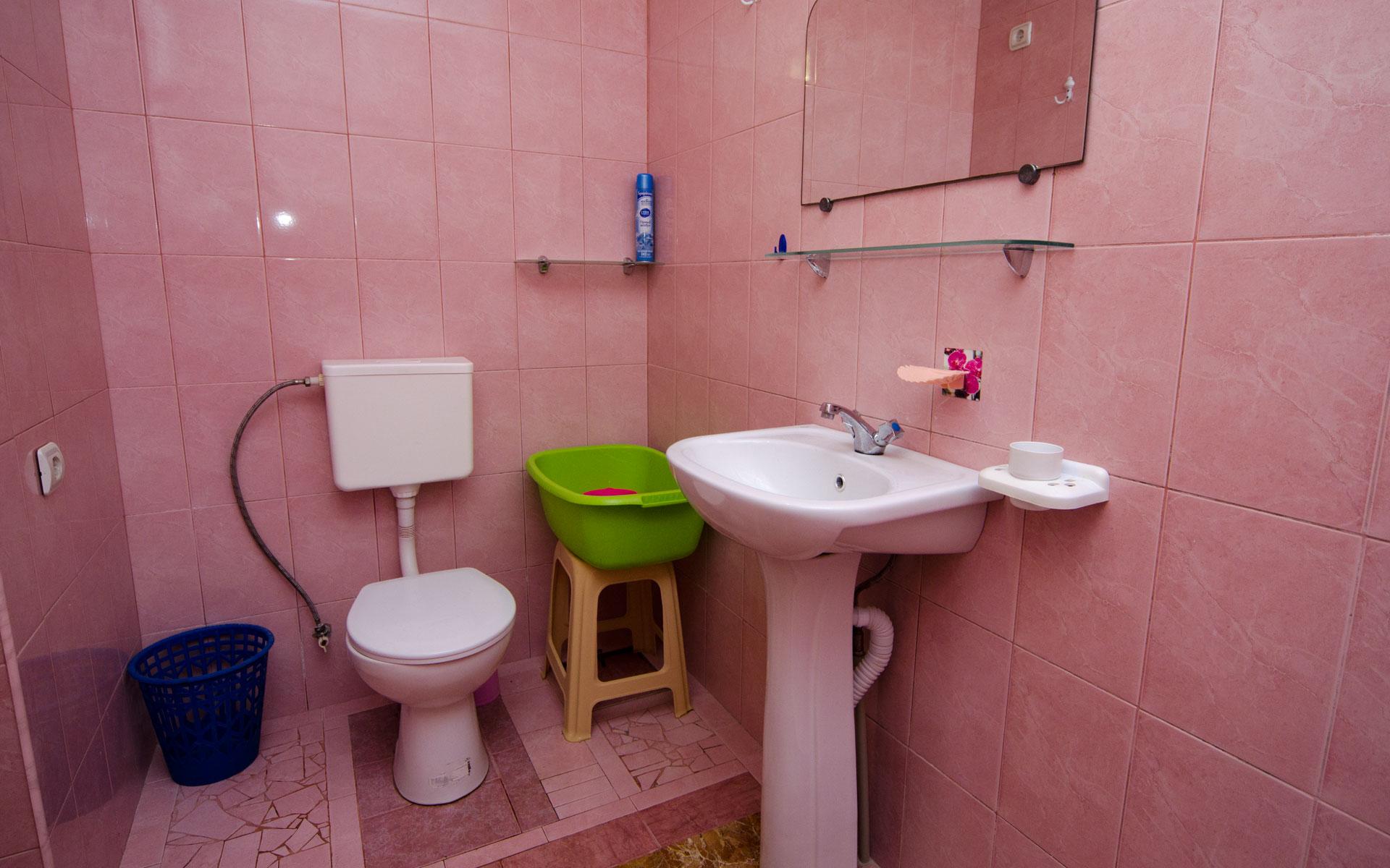 Душ, туалет. Квартира 2. 2 квартиры на ул. Гайдара. Заозёрное