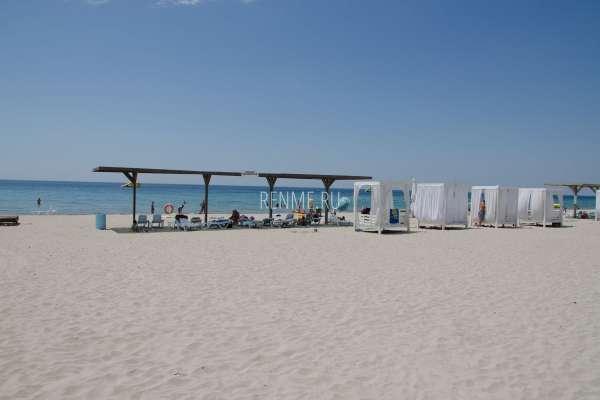 Белый пляж. Фото Штормового