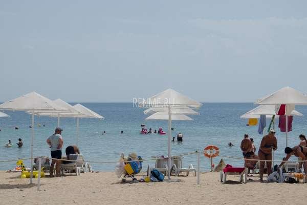 Пляж Барабулька в июне 2020. Фото Заозёрного