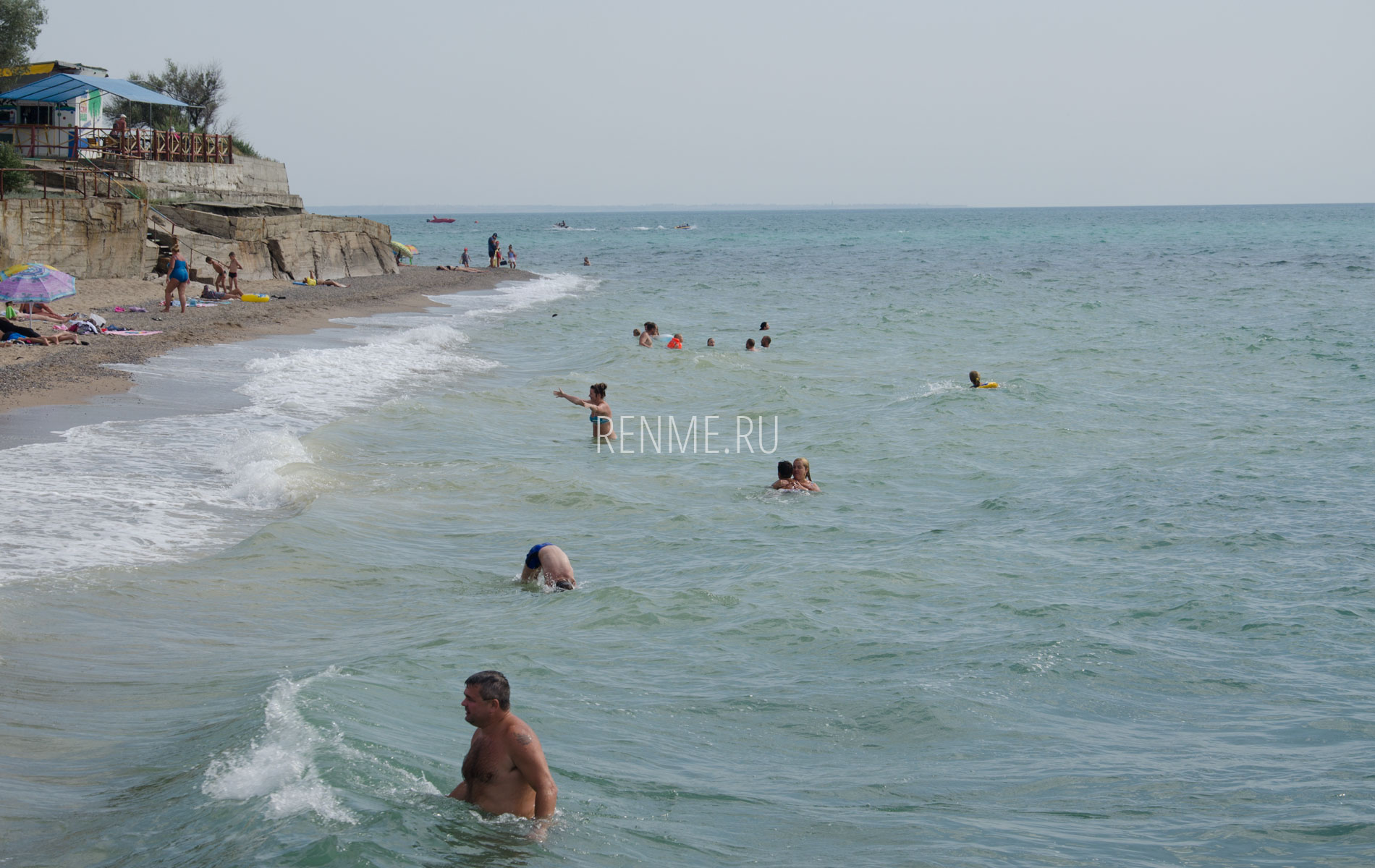 Пляж и море Николаевки. Фото Николаевки