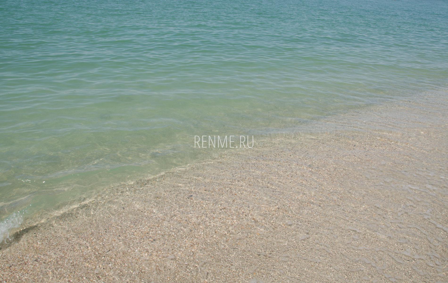 Песчаный пляж на Бакальской косе 2019. Фото Стерегущего