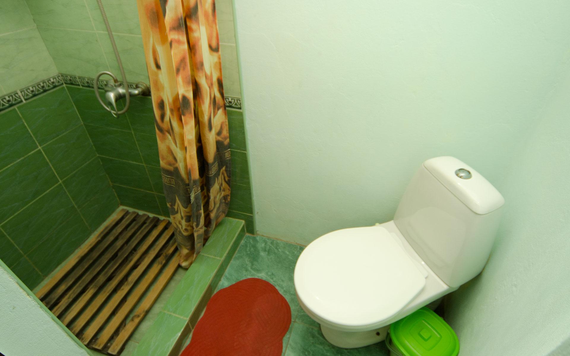 Душ, туалет. Второй домик. Два домика. Заозёрное