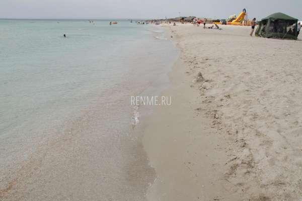Песочек на Южной косе. Фото Мирного